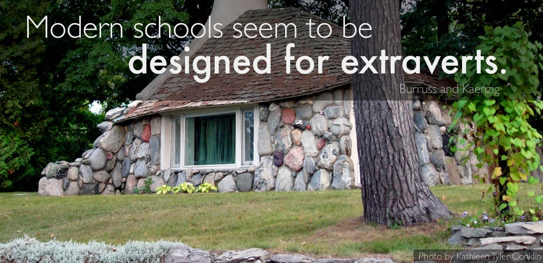 Modern schools seem to be designed for extraverts