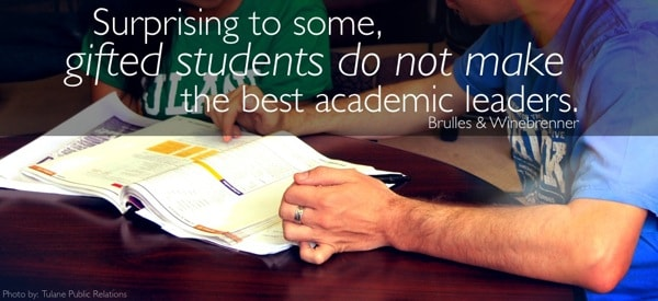 Gifted learners do not make the best academic leaders