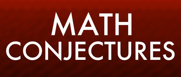 Math conjectures