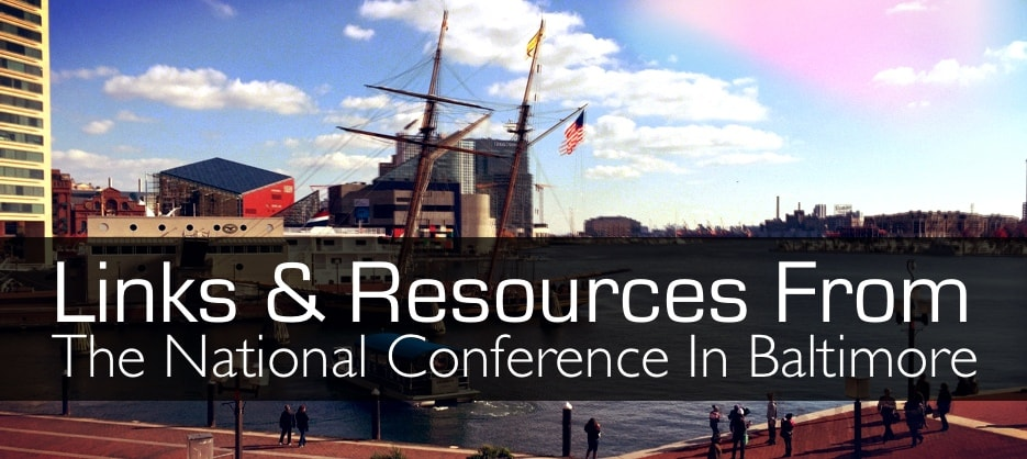 Ian's Links from NAGC Baltimore