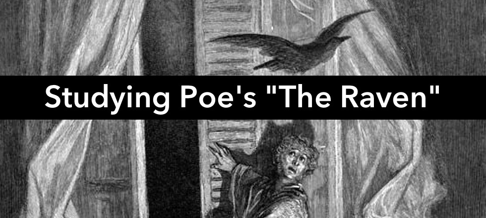 Studying Poe's 'The Raven' in the classroom