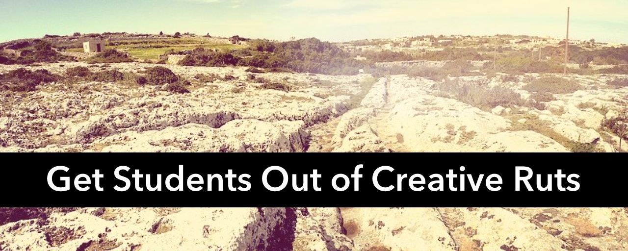 Practical tools for getting kids out of creative ruts