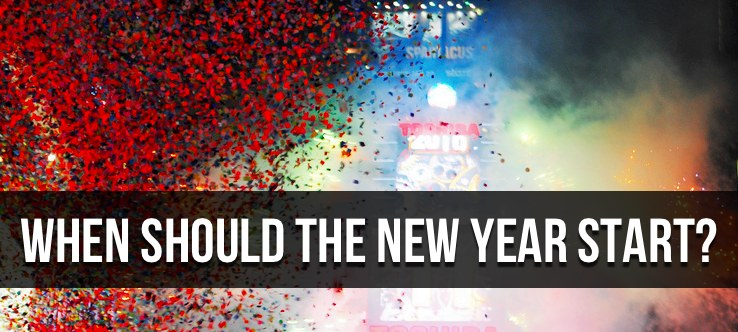 When Should The New Year Start?