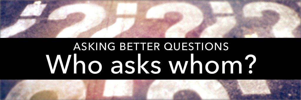 Getting students to ask each other questions